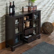 Load image into Gallery viewer, Acme 97328 Dubbs Espresso Wood Finish 5 Drawer Console Table