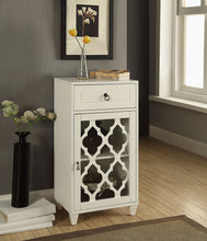 Load image into Gallery viewer, Acme 97378 Ceara White Finish Drawer Door Side Table