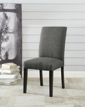 Load image into Gallery viewer, Acme Vriel Charcoal Linen Finish 2 Piece Dining Side Chair