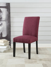 Load image into Gallery viewer, Acme Vriel Purple Linen Finish 2 Piece Dining Side Chair