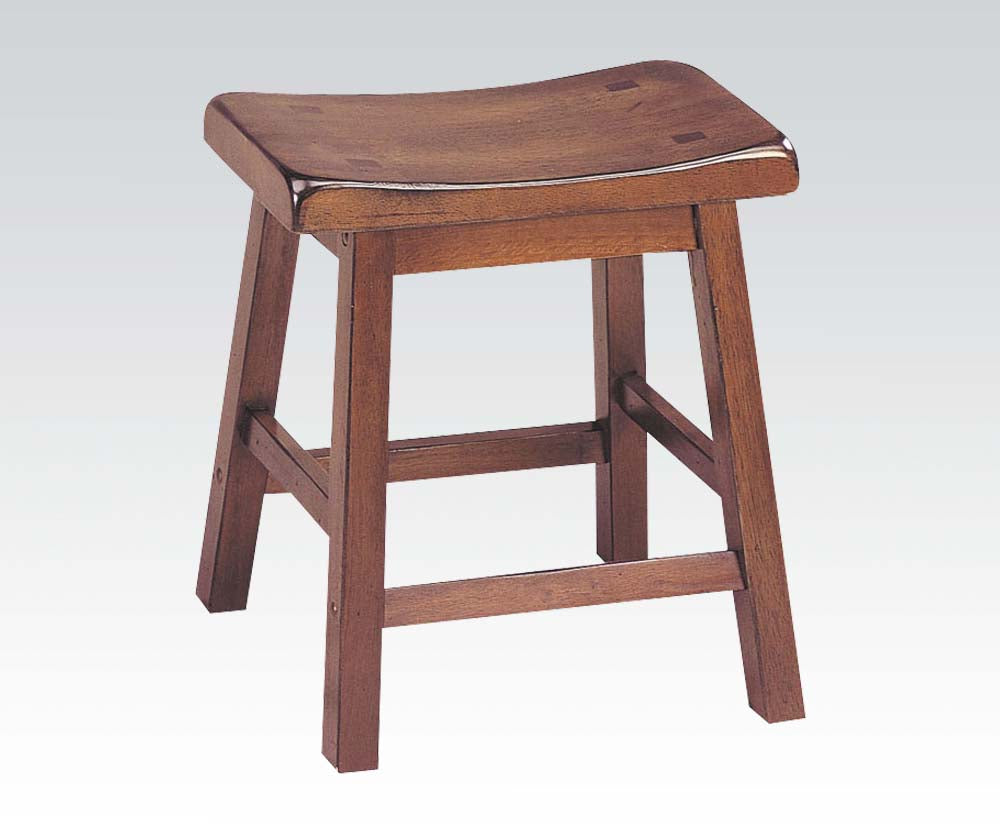 Acme Gaucho Walnut Height Bar Stool