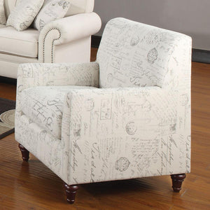 Coaster Norah Cream Antique Inspired Chair