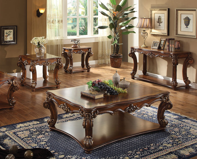 Acme Vendome Traditional Cherry Coffee and End Table Set