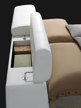 Load image into Gallery viewer, Acme Layla White Pu King Storage Bed