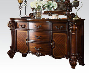 Acme Vendome Cherry Wood Finish Dresser With Mirror