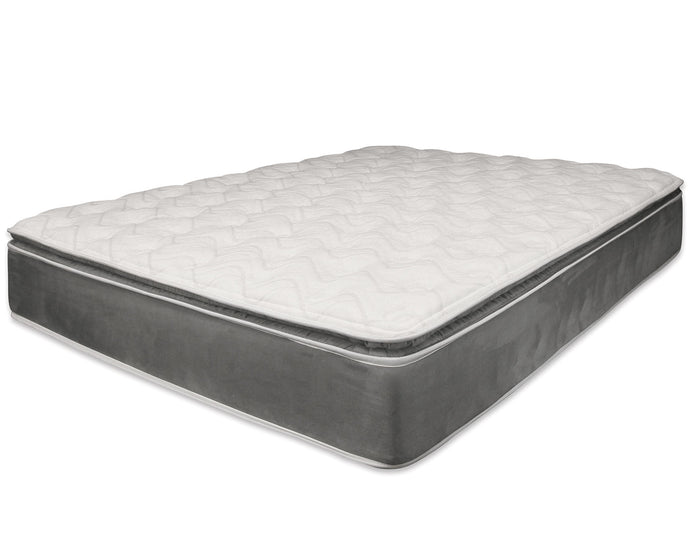 Acme Jade Inches Pillow Top Gray Eastern King Mattress