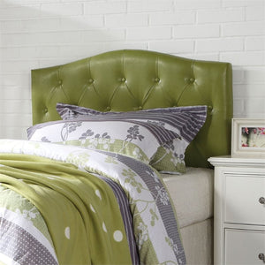Acme Viola Green Pu Queen Full Headboard Only
