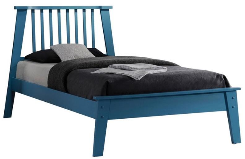 Acme Marlton Blue Queen Platform Bed