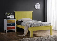 Load image into Gallery viewer, Acme Prentiss Yellow Queen Platform Bed