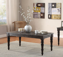 Load image into Gallery viewer, Acme Kami Antique Black Wood Finish Coffee Table