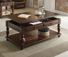 Load image into Gallery viewer, Acme 82745 Farrel Walnut Lift Top Coffee Table with Drawers