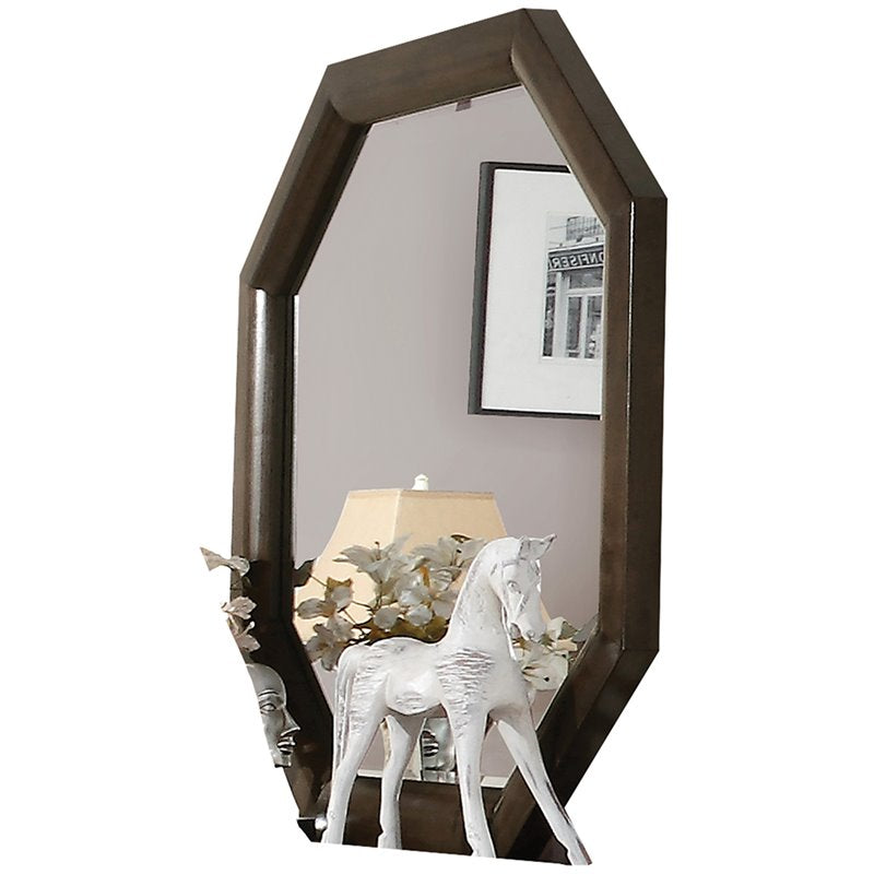 Selma Mirror Wooden Tobacco Finish 24093 Acme