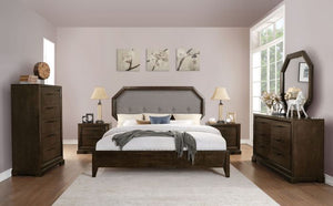 Acme 24090Q 4 Piece Tobacco Finish Queen Bedroom Set