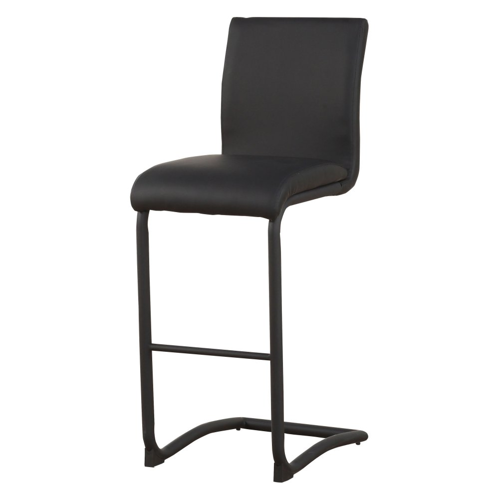 Acme 70257 Gordias Black Finish Counter Height Chair Set of 2