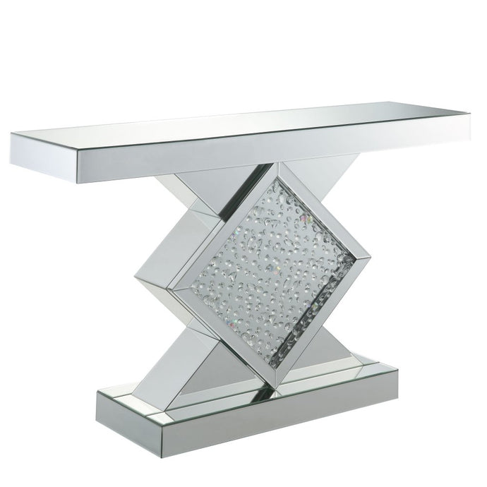 Acme Furniture 90068 Nysa Diamond Console Table