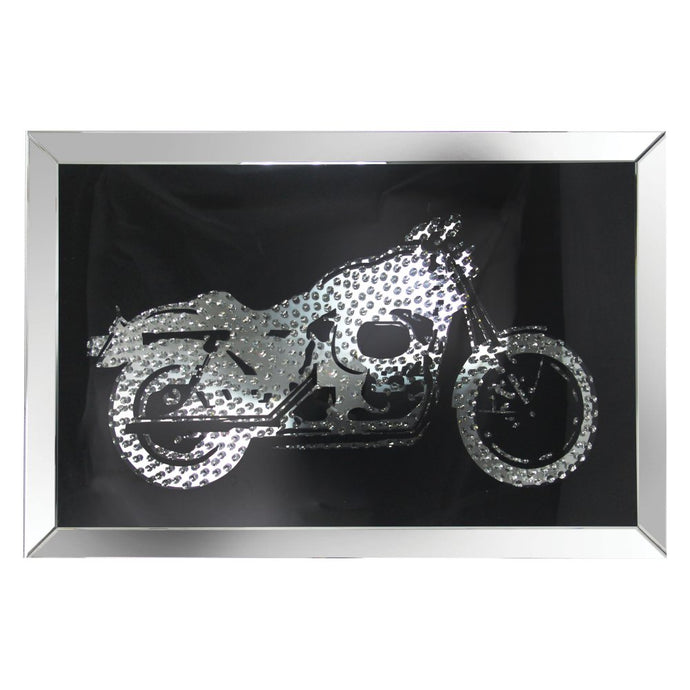 Acme Furniture 97317 Nevina Crystal Bike Wall Art