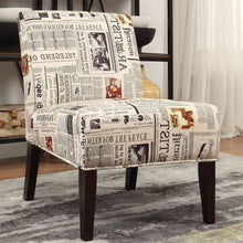 Load image into Gallery viewer, Acme 59397 Furniture Aberly Multicolor Finish Armless Accent Chair