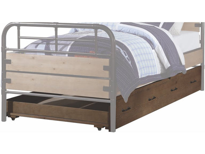 Acme 30612 Adams Oak Wood Finish Twin Size Trundle