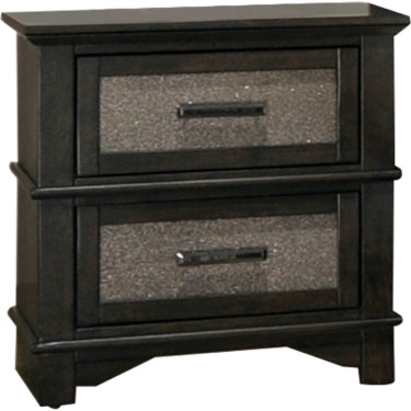 Acme 26283 Anatole Walnut Wood Finish Nightstand