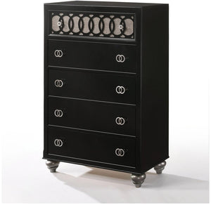 Acme 27076 Ulrik Black Wood Finish Transitional Chest