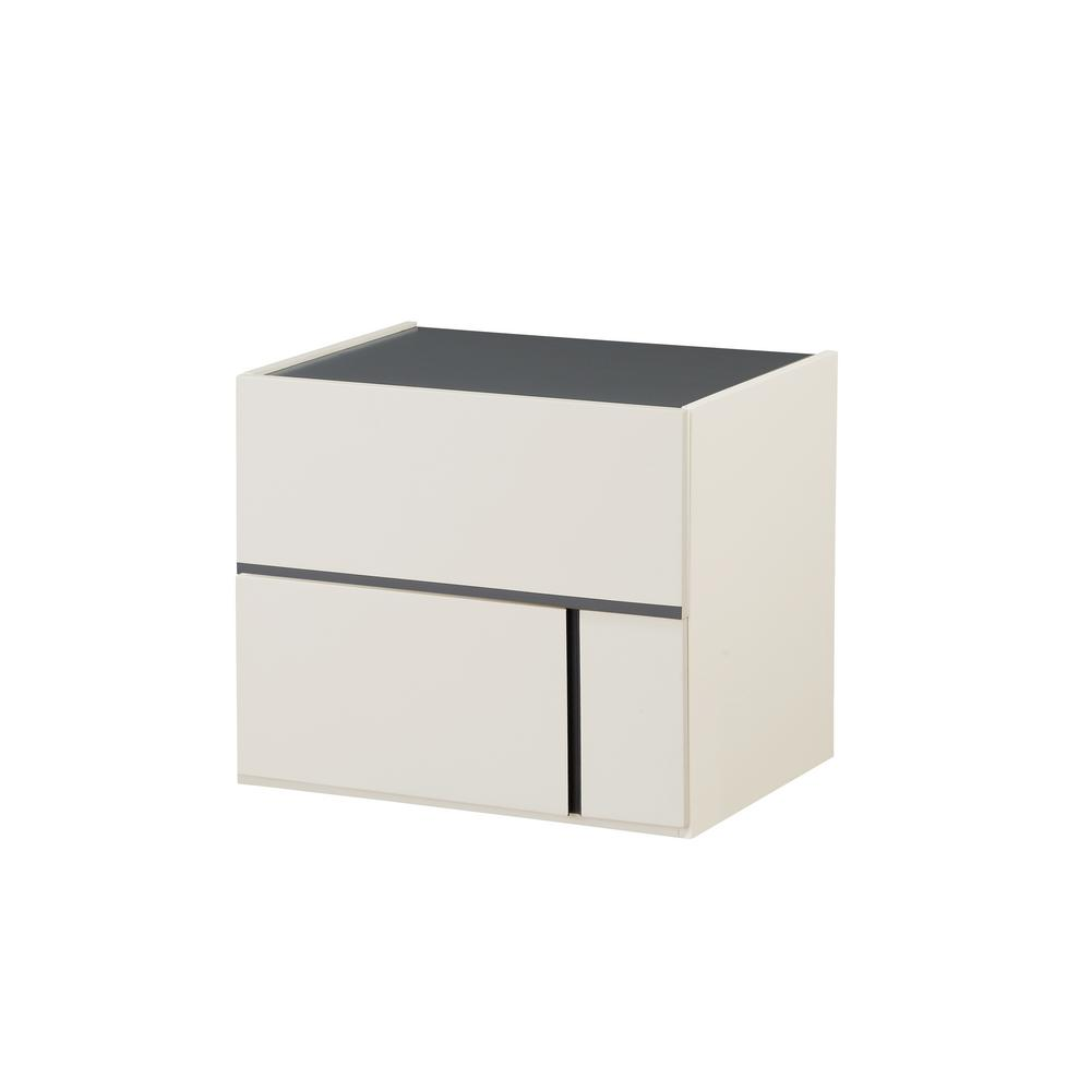 Acme 97524 Kottow Gray Wood Finish Contemporary Nightstand