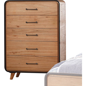 Acme 30766 Carla Oak Wood Finish Contemporary Chest