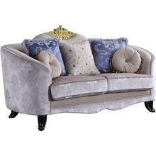 Load image into Gallery viewer, Acme 53946 Sheridan Cream Fabric Finish Loveseat