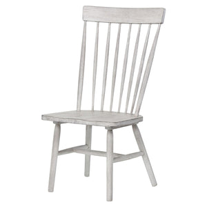 Acme 72412 Adriel Antique White Wood Finish 2 Piece Dining Chair