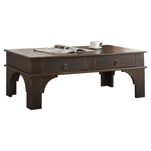 Acme 84585 Elvira Espresso Wood Finish Coffee Table