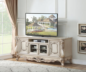 Acme 91443 Gorsedd Beige Wood Finish TV Stand