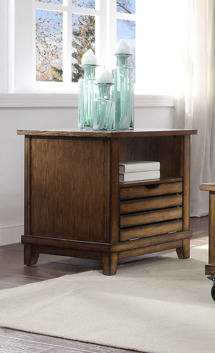 Acme Gabriella Cherry Wood Finish End Table