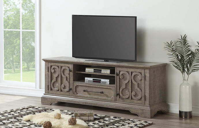 Acme Artesia Salvaged Natural Wood Finish TV Stand