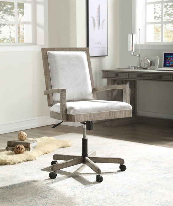 Acme Artesia Salvaged Natural Wood Finish Office Chair