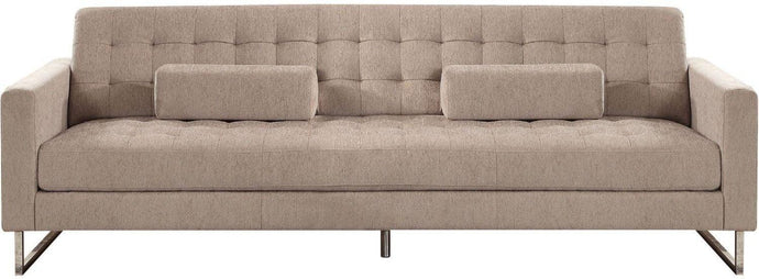 Acme Sampson Beige Fabric Finish Sofa