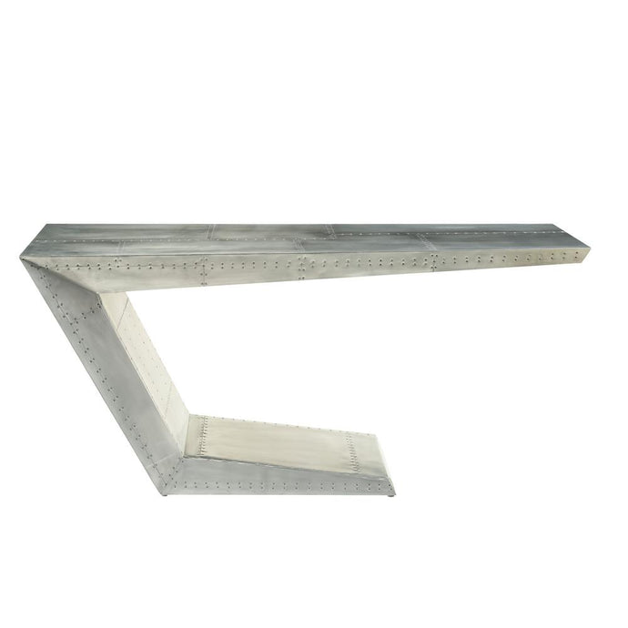 Acme Brancaster Silver Aluminum Finish Rectangle Bar Table