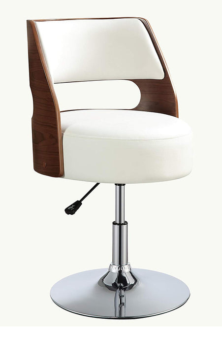 Acme Camila White PU Leather Finish Office Chair