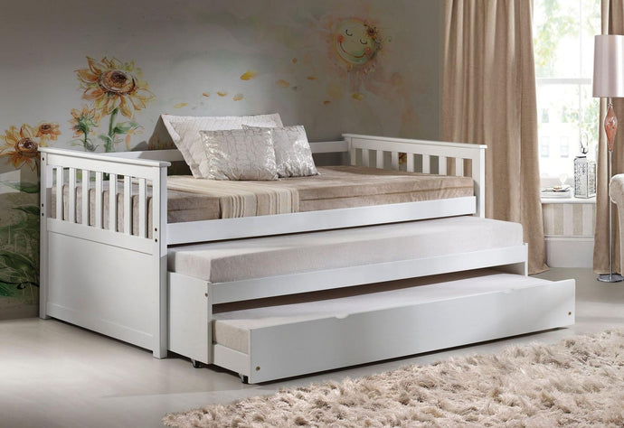 Acme Cominia White Wood Finish Twin Daybed With Trundle