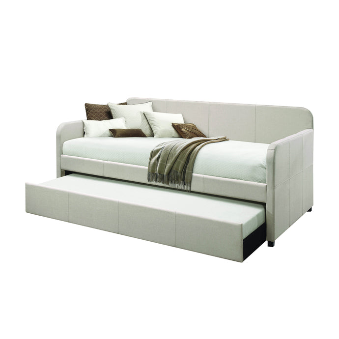 Acme Jagger Beige Fabic Finish Twin Daybed