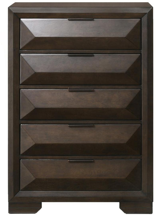 Acme Merveille Espresso Wood Finish Chest