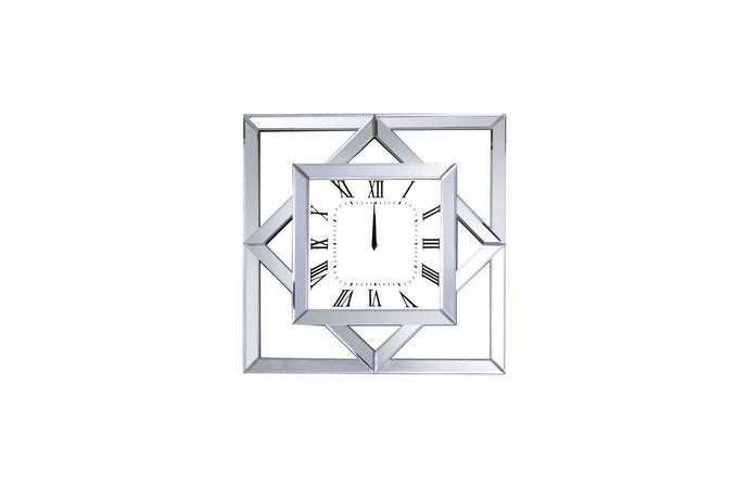 Acme Mhina Mirrored Finish Wall Clock