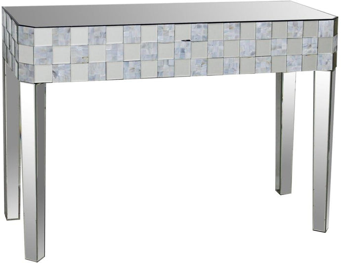 Acme Nasa Mirrored Finish Console Sofa Table