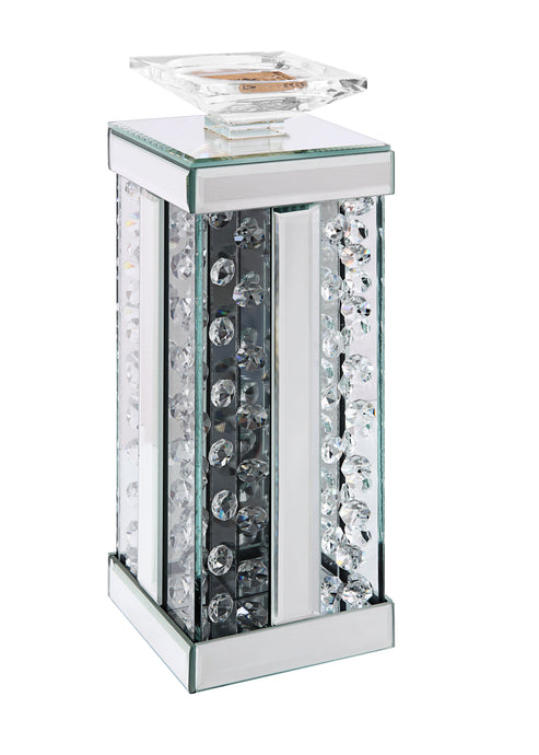Acme Nysa Mirrored Glass Finish 17