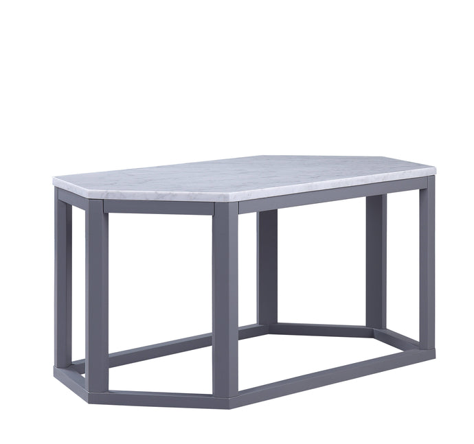 Acme Reon Gray Marble Top Finish Coffee Table