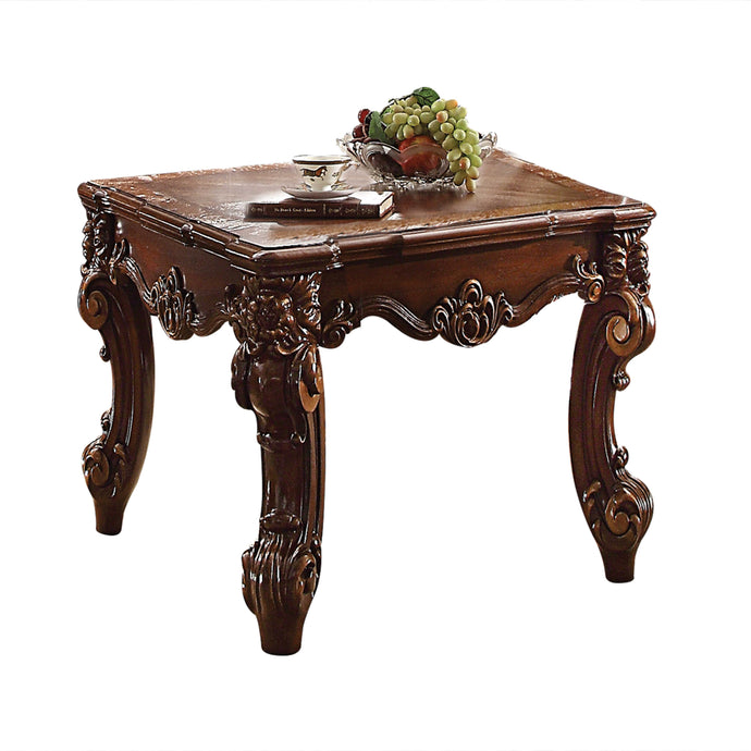 Acme Vendome Cherry Wood Finish End Table