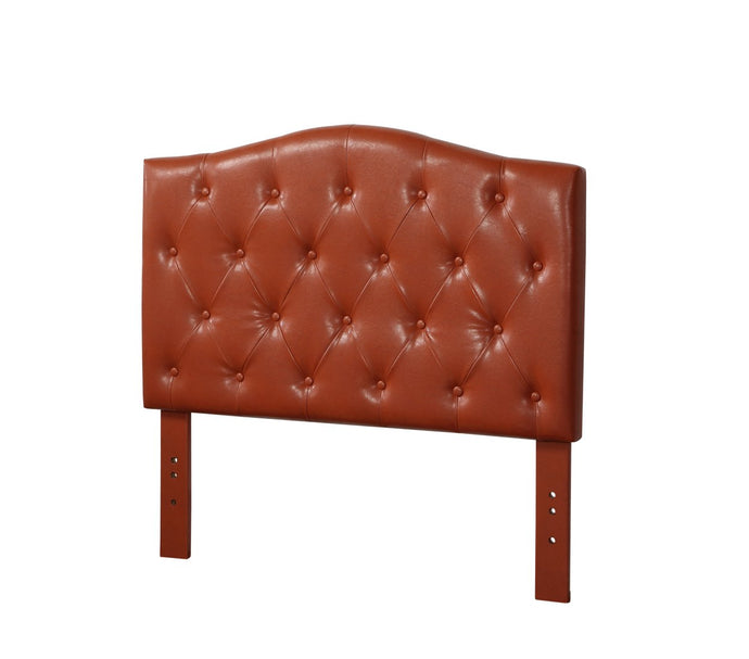 Acme Viola Red PU Leather Finish Queen Headboard