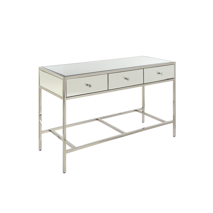 Acme Weigela Mirrored Finish Sofa Console Table