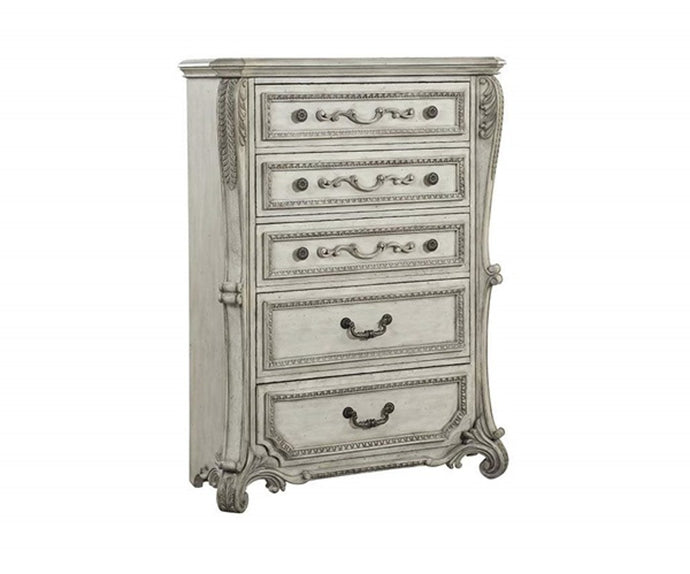Acme Braylee Antique Pearl Wood Finish Chest