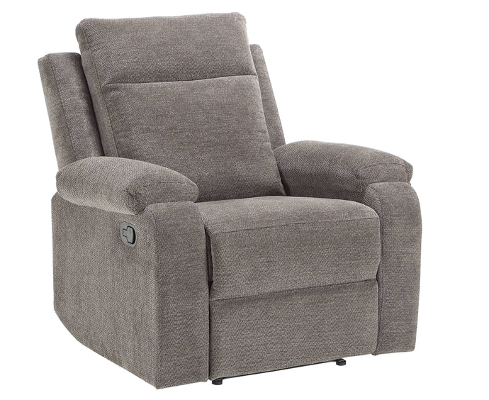 Acme Elijah Charcoal Chenille Finish Recliner Chair