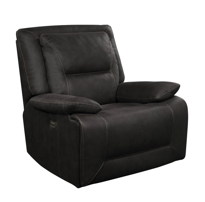 Acme Neely Charcoal Fabric Finish Recliner Chair