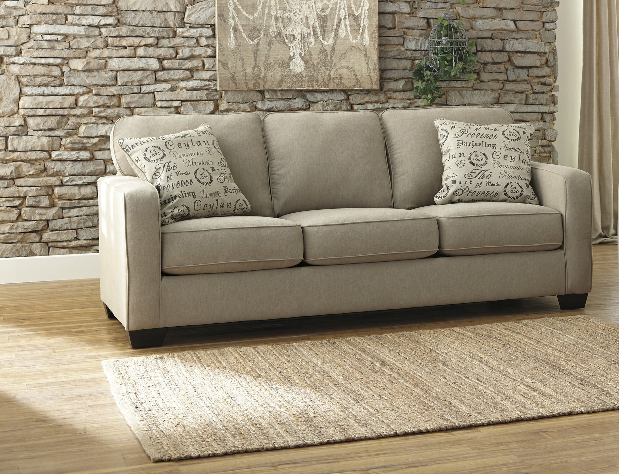 Terrific Alenya Quartz Queen Sofa Sleeper 1660039 Ashley Furniture Ncnpc Chair Design For Home Ncnpcorg